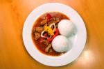 Kuřecí řezanka, dušená rýže