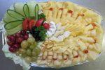 Obložená mísa sýrová   1kg   390,-Kč